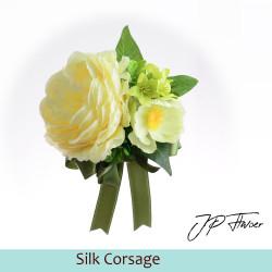 Silk Corsage