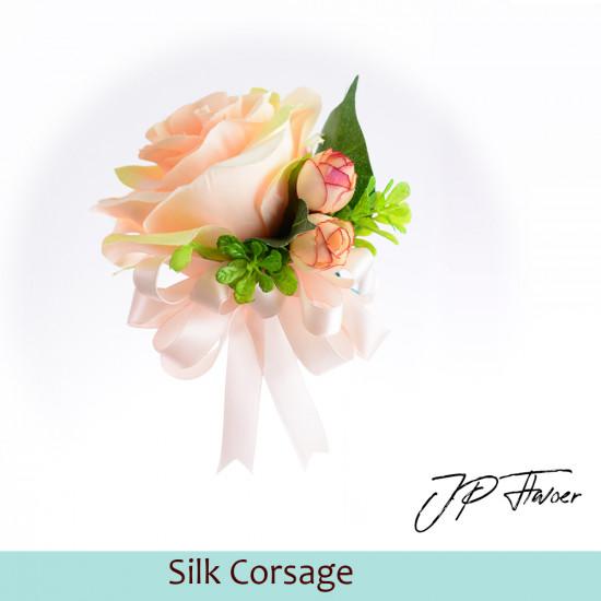 絲花襟花(玫瑰)