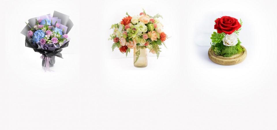 花束,保鮮花,絲花,花店